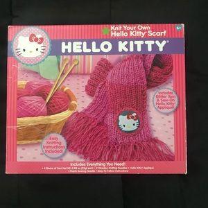 Hello Kitty DIY scarf kit